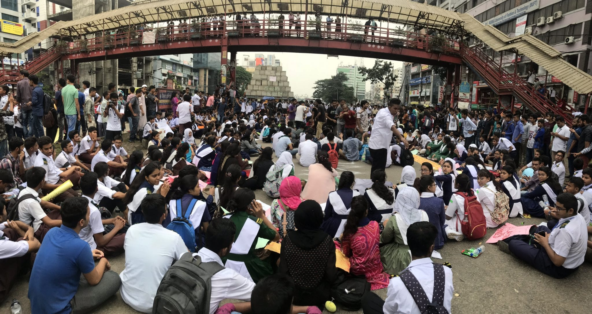 Protest for safer roads in Bangladesh